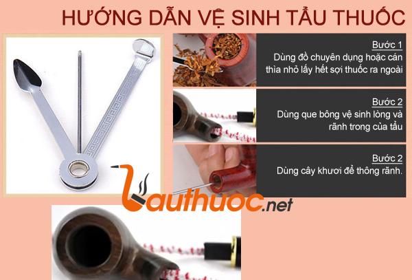 Hướng dẫn vệ sinh tẩu thuốc lá