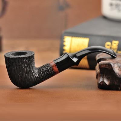 Tẩu thuốc gỗ Sherlock Holmes làm từ gỗ thạch nam (briar) hút thuốc lá sợi 1606E