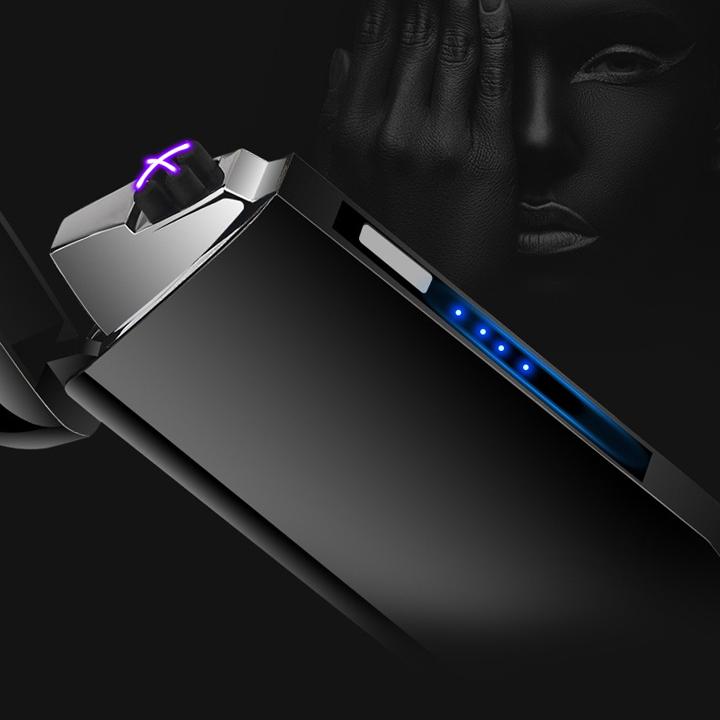 Bật Lửa Điện cảm Ứng LED sang trọng BL805
